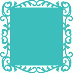 ornate frame background