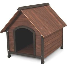 Aspen Pet Ruff Hauz Peak Roof Dog House, 50 to 90-Pound >>> Be sure to check out this awesome product.