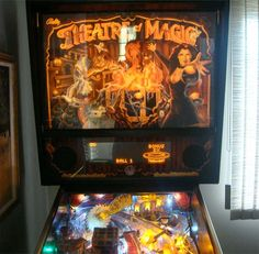 Theatre of Magic Pinball Machine For Sale Parts Accessories Penn And Teller, Target Setting, Pinball, Childhood Memories, Arcade, Theatre, Magic, Accessories, Theater