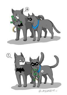 Yep... Damian's real batman will always be Grayson