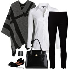 No. 554 - At the Office by hbhamburg on Polyvore featuring NIC+ZOE, Burberry, The Row, Maiden Lane and Vivienne Westwood