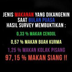 Survey membuktikan..