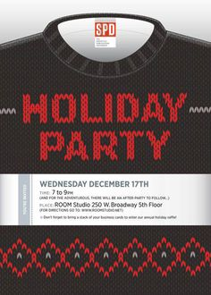 Knit Holiday type