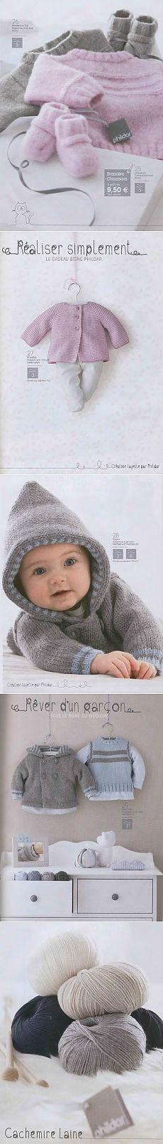 Вязание спицами для младенцев