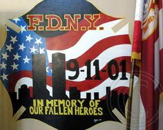 https://flic.kr/p/ihwg7X | FDNY Fire Academy 9/11 Memorial, Randalls Island, New York City