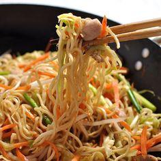 Proper Chicken Chow Mein | RecipeTin Eats