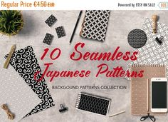 japanese background patterns in black and white :: graphics.tterns are original and copyrighted by all is full of love Japanese Background, Geometric Background, Background Patterns, Black White Pattern, White Patterns, Black And White, Design Patterns, Design Tutorials, Scrapbook Patterns