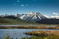 Red Rock Lakes National Wildlife Refuge in southwest Montana.