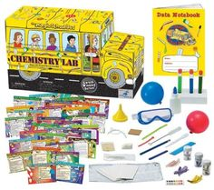 The Magic School Bus – Chemistry Lab. Read more at http://www.toys-zone.com/the-magic-school-bus-chemistry-lab/