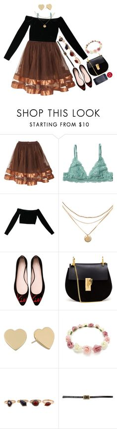 """""""omfg marry me already"""" by heymishiehere ❤ liked on Polyvore featuring Monki, American Apparel, Kate Spade, Chloé, WithChic, Maison Boinet and Korres"""