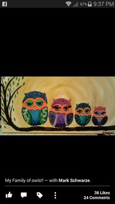 My Family of owls