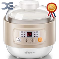 73.10$  Buy here - http://alitoj.worldwells.pw/go.php?t=32755656663 - Water Stew Pot Electric Mini BB Baby Soup Porridge Pot Of Electric Cookers Crockpots Slow Cooker 220V 73.10$