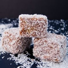 Lamington Cake | FoodEpix One of my favorite desserts!!!