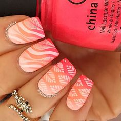 top nail art styles trends 2017 - style you 7 Nail Art Designs 2016, Pretty Nail Designs, Fall Nail Designs, Acrylic Nail Designs, Fabulous Nails, Gorgeous Nails, Cute Nails, Pretty Nails, Hair And Nails