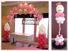 Baby Shower Decorations and Gifts by Balloons Galore and Baby Shower Decorations For Boys, Baby Shower Gifts For Boys, Baby Decor, Baby Shower Parties, Baby Shower Themes, Shower Party, Shower Ideas, Naming Ceremony Decoration, Ceremony Decorations
