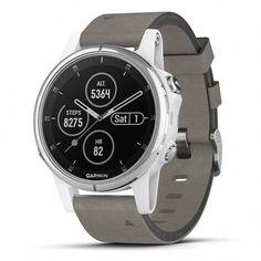 4c035bbcad823c Garmin fenix 5 Plus Smartwatch Sapphire White with Suede Band  #androidwatch,digitalwatch,gpswatch