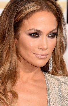Get The Look: Jennifer Lopez 2015 Golden Globes Makeup