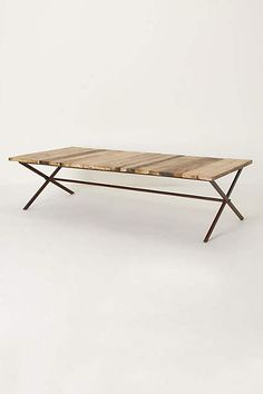 Plank House Coffee Table - anthropologie.com