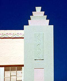 Art Deco is what makes South Beach SHINE!  (South Beach Magazine photo) South Beach, Fla