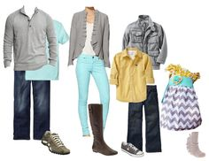 Fall Family Photos - Clothing Spread . I want that dress! one for each daughter! cute for color scheme