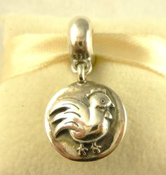 """Pandora """"Year of the Rooster"""" charm"""