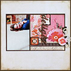 delight using the Pink Plum Collection by Crate Paper - Scrapbook.com