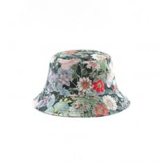 Found on OhLike: Pigalle Floral Bucket Hat