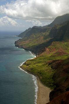 Na Pali Coast, Kauai, Hawaii, One of my favorite places in the world.