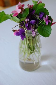An ode to violets – creative ideas for using dainty violets at your spring wedding