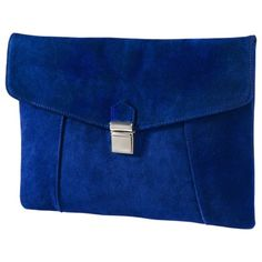 Sometimes it's good to have the blues. Mossimo Supply Co. Large Push Lock Clutch - Blue $24.99