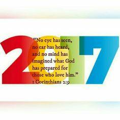 2017 (1 Corinthians 2:9)
