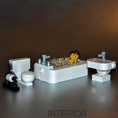 LEGO Furniture: Bathroom Set with Toilet, Sink & Bathtub Interior Bricks http://www.amazon.com/dp/B00ORLTYX2/ref=cm_sw_r_pi_dp_sFwgvb0CHGHDK
