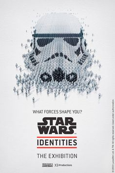 """Star Wars: Identities, which opens in Montreal, Canada on April 19 and comes to Edmonton, Canada on October 27, will """"explore the theme of personal identity both in ourselves and in the characters that inhabit the Star Wars universe."""" See the spectacular posters below!"""