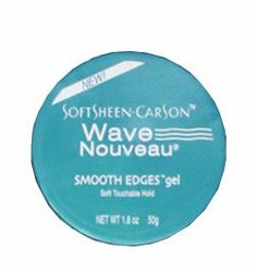 Wave Nouveau Coiffure Smooth Edges Gel, 1.8 oz by Wave Nouveau Coiffure. $4.75. Apply as needed to maintain your Wave Nouveau style.. Introducting the New tool for texture! Formulated with TRIFUSION TECHNOLOGY?. Quenches dry, thirsty hair.. Provides long-lasting softness and shine.. Excellent for permanent waved and natural hair.. Wave Nouveau Coiffure, the ultimate collection of textural enhancers designed to maximize your hair's capabilities, is a chemical treatment that...