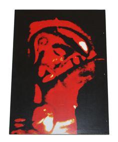 Icono 'Rostro de Cristo crucificado', obra de Kiko Argüello, iniciador del Camino Neocatecumenal. Christian Art, Hocus Pocus, Fictional Characters, Paintings, Christ, Sacred Heart, Jesus Painting, Day Planners, Drive Way