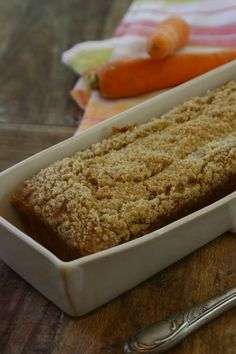 This Ricotta Carrot Cake With Cinnamon Crumb Topping is a modern and elegant twist on traditional carrot cake.