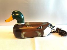 Telemania Mallard Duck Telephone #Telemania