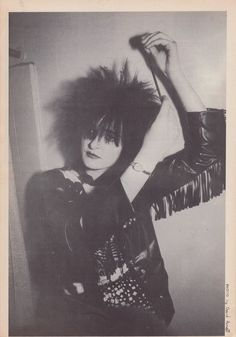Siouxsie of Siouxsie and The Banshees † Photo: David Arnoff † Zig Zag Magazine, June 1981