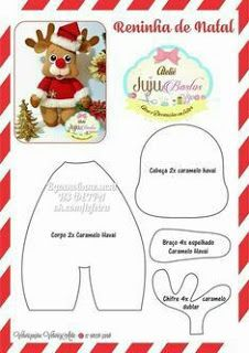 New Diy Christmas Felt Templates Ideas Easy Christmas Ornaments, Felt Christmas Decorations, Felt Ornaments, Diy Christmas Gifts, Christmas Art, Christmas Stockings, Craft Decorations, Sewing Crafts, Sewing Projects
