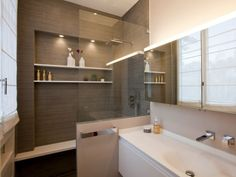 Une douche comme en institut de beauté - Douche à l'italienne