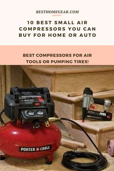 10 Best Small Compressors For Air Tools and Tires Cool Diy Projects, Outdoor Projects, Feng Shui Horse, Wood Fence Post, Lawn Fertilizer, Infrared Heater, Lawn Maintenance, Fire Table, Patio Heater