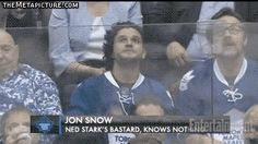Happened at the Leaf's game…lmao