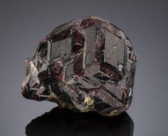 Minerals:Small Cabinet, GARNET var. ANDRADITE. Miracle Mountain Mine, Garnet Hill,Calaveras Co., California, USA. ...
