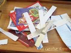 Recycled Paper Chains ~ Creative Family Fun