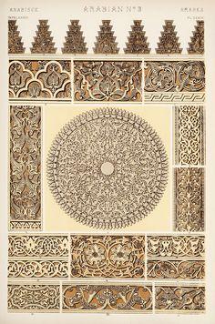 Decorative Arts: The grammar of ornament: [Arabian ornament. Plates 31, 32, 33, 34, 35]