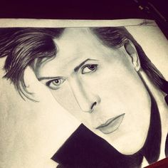 Stars are never sleeping R.I.P. David Bowie