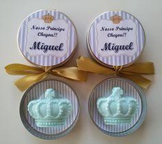 Latinha Mint Metal Prata 5X1 Personalizada + Mini Sade Celofane