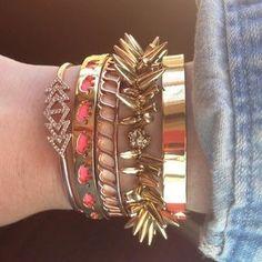 Strength Bracelet: Breast Cancer Bracelets | Stella & Dot | Stella & Dot