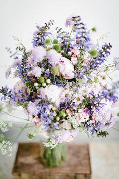Brautstrauss lila mi