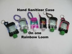 Craft Life Hand Sanitizer Case on One Rainbow Loom
